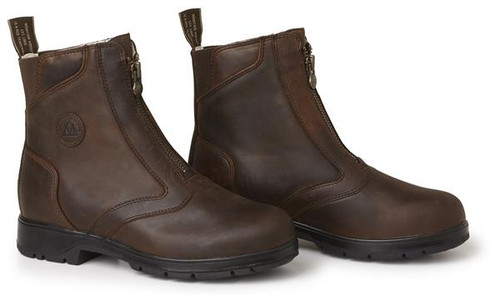 MH Spring River Paddock Boots Brown