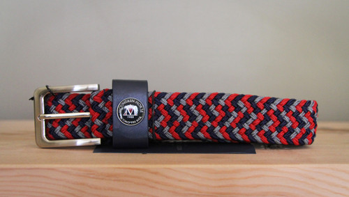 Mountain Horse Belt Multi Red