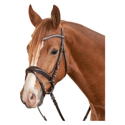Dobert Farmer III Brown Leather Bridle