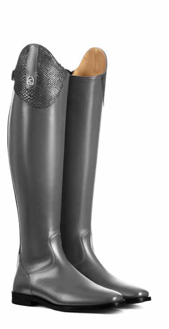 Cavallo Linus Dressage Edition Pitone Grey Tall Boots
