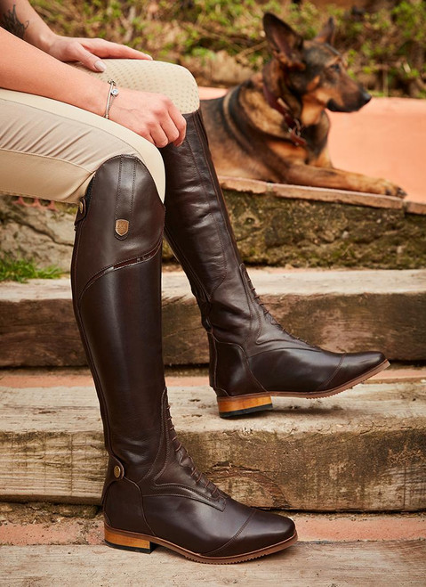 MH Sovereign Tall Boots Dark Brown