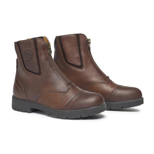 MH Wild River Zip Up Boots Brown