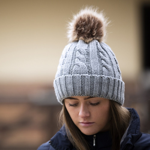 Mark Todd Knitted Hat Grey