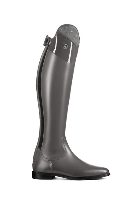 Cavallo Linus Nubuck, Patent, Rhinestone Tall Boots Grey