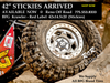 BFG Red Label Krawler | 42x15.50-20 | BFGoodrich Stickies (Non-Dot) | Free Shipping