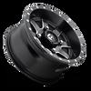 Fuel Off-Road UTV  Wheels | Maverick D538 | 14x7 | 4x156 | Black Milled | D5381470A544