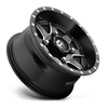 Fuel Off-Road UTV Wheels | Maverick - D538 | 24x7 | 4x136 | Black Milled | D5382470A644