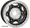 Walker Evans Racing Beadlock Wheels | Legend II | 17x8.5 | Satin Black w. Accents