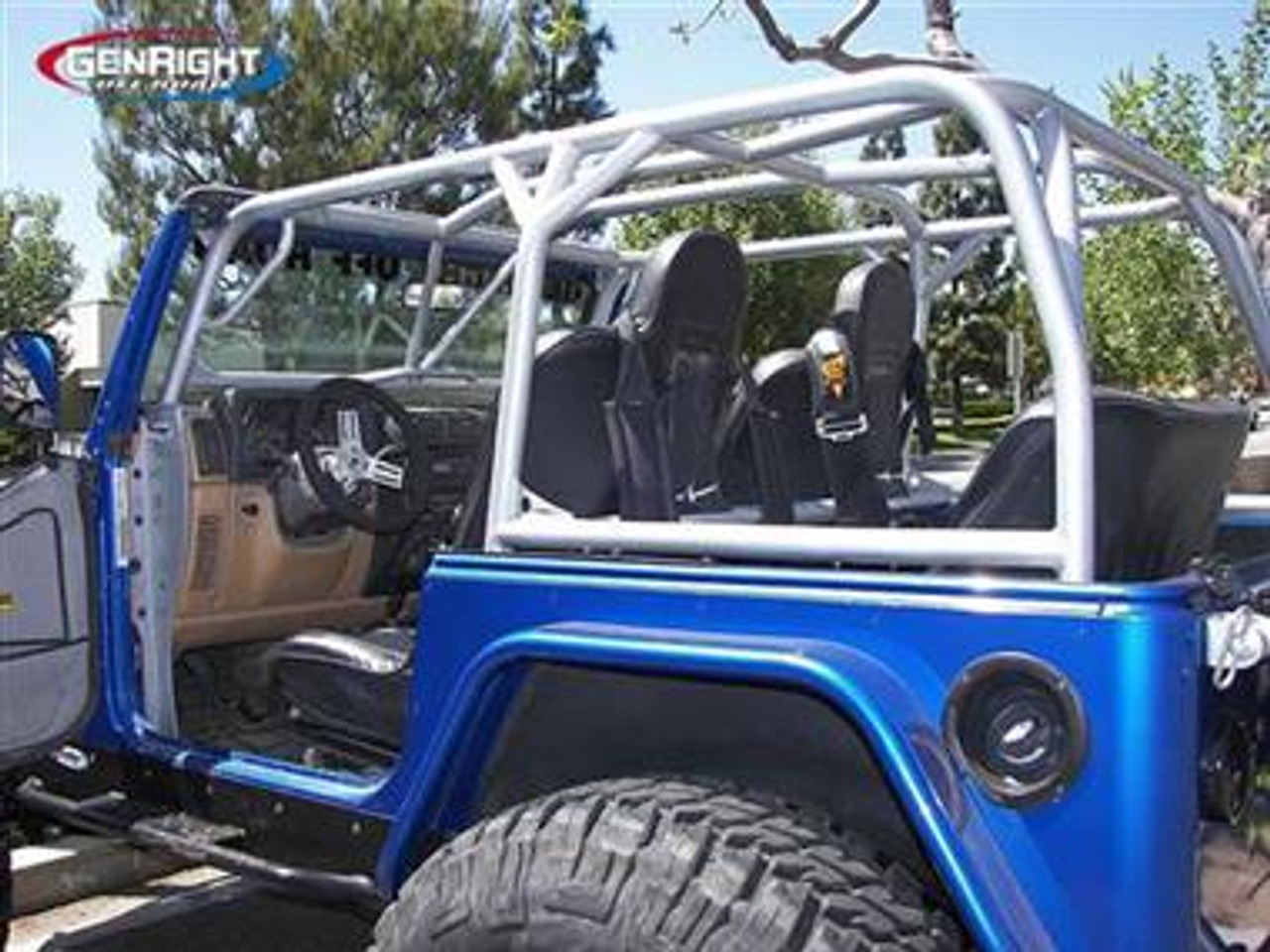 Complete Roll Cage Genright