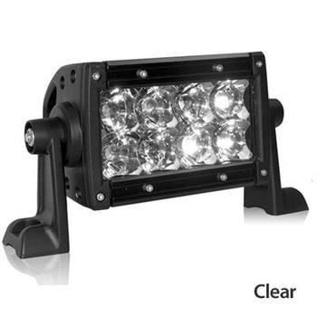 """E-Series 4"""" Clear Spot Light Bar"""