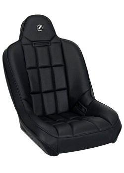 Baja SS Suspension Seat - Black Vinyl