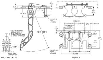 Wilwood Forward Swing | Triple Mount | Master Cylinder Pedal www.renooffroad.com
