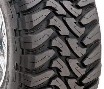 Open Country M/T Tire Size: 33x12.50R15LT