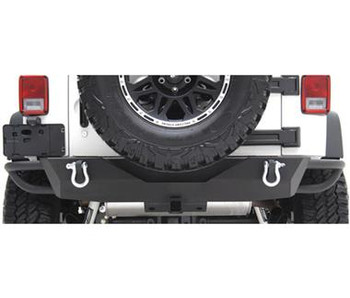SRC Rear Bumper with Receiver Hitch