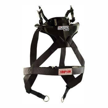 Simpson Hybrid Pro Rage X-Small Neck Neck Restraint System With Sliding Helmet Tether
