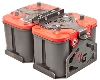 Battery Box Kit * Dual Optima by: Trail-Gear (300383-KIT)