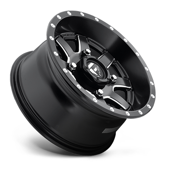 Fuel Off-Road UTV  Wheels | Maverick D538 | 14x7 | 4x156 | Black Milled