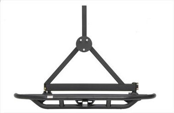SRC Rear Bumper and Tire Carrier with Receiver Hitch www.renooffroad.com