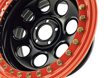 Gatekeeper | Beadlock Wheels | 17x9 | Red
