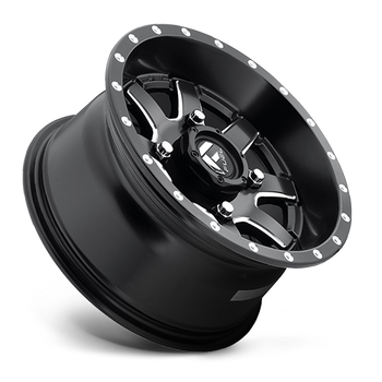 Fuel Off-Road UTV Wheels | Maverick D538 | 14x7 | 4x110 | Black Milled | D5381470A444