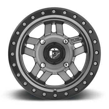 Fuel Off-Road UTV Wheels | Anza D558 Anthracite 14 Inch www.renooffroad.com