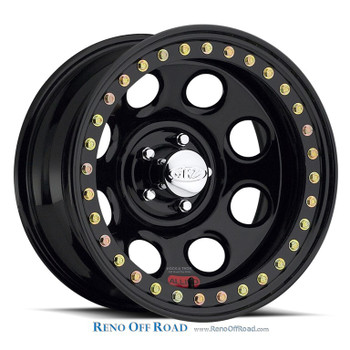Raceline Steel Beadlock Wheel |  Rock 8 | 17x9.5 | 8x6.5 | RT81