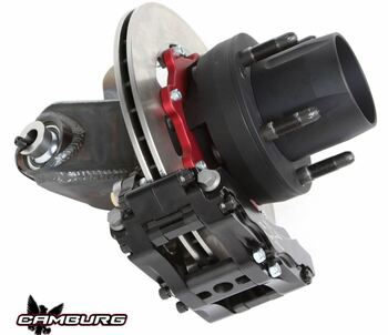Camburg Race I-Beam Spindle w. Hubs | Wilwood Rotors | F-150 2WD at www.renooffroad.com
