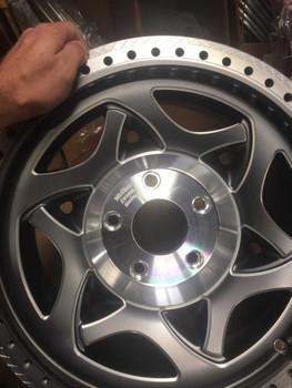 Walker Evans Racing Legend II Beadlock with Gun Metal at www.RenoOffRoad.com