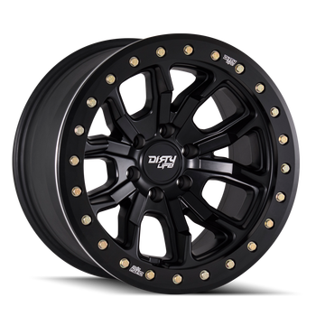 Dirty Life Beadlock Wheel | 9303 DT-1 | Matte Black (DOT)
