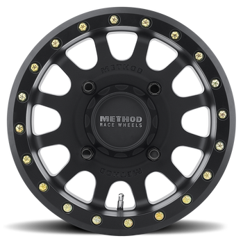 Method Race Wheels | UTV Beadlock | 401 | Matte Black at www.renooffroad.com