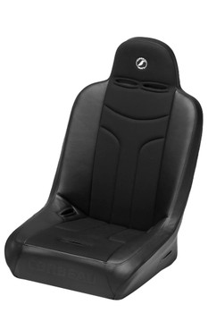 Corbeau | Baja JP Wide Seat | Black Vinyl/ Black Cloth