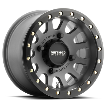 Method Race Wheels | UTV Beadlock | 401 | Titanium at renooffroad.com