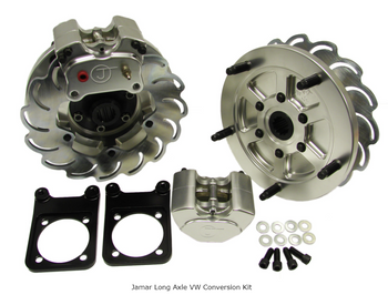 "Jamar Performance | VW Rear Brake Kit | 2 Piston Calipers And 10"" Rotors For Long Axle Swing Axle Or IRS"