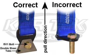 Limit Straps | 4 layer | Heat Treated | Black