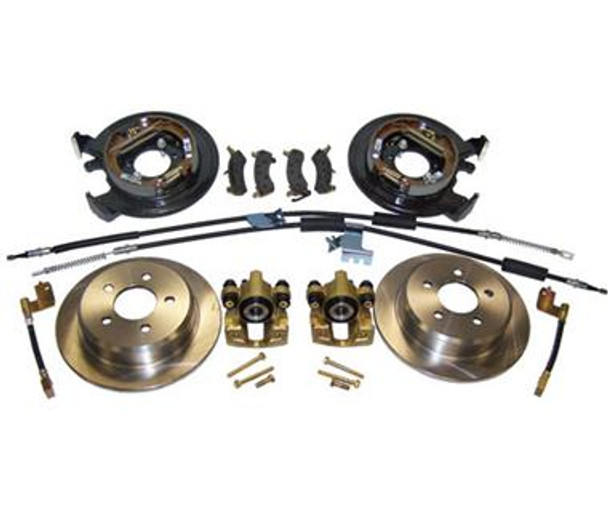 Drum-To-Disc Brake Conversion Kit for Jeep