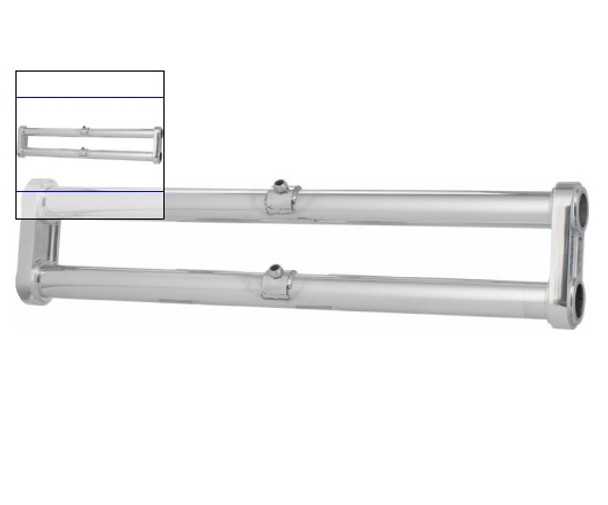 Aluminum King & Link Pin Front Axle Beam, with out Shock Towers