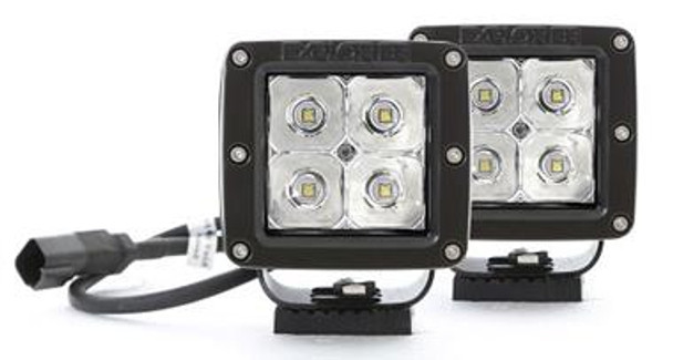 Light POD, 2X2 Square. 3W LED Spot - Pair by ProComp