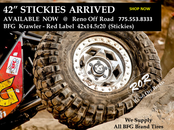 BFGoodrich Krawler KX 42x14.50-20 Red Label - Stickies FREE SHIPPING