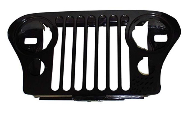 Jeep Steel Hood Grill | Fits 1976 to 1986 CJ