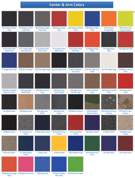 PRP Seat Color OptionsPRP Seats - Comp Pro www.renooffroad.com