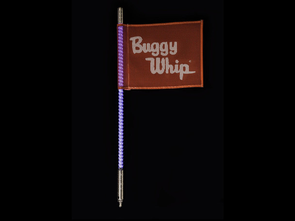 Buggy Whip * White * LED Whips