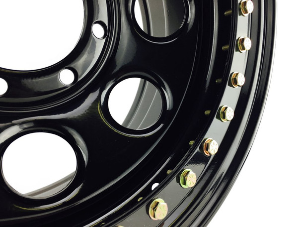 Battle Born Wheels | Gatekeeper | Beadlock | 15x8 | Black