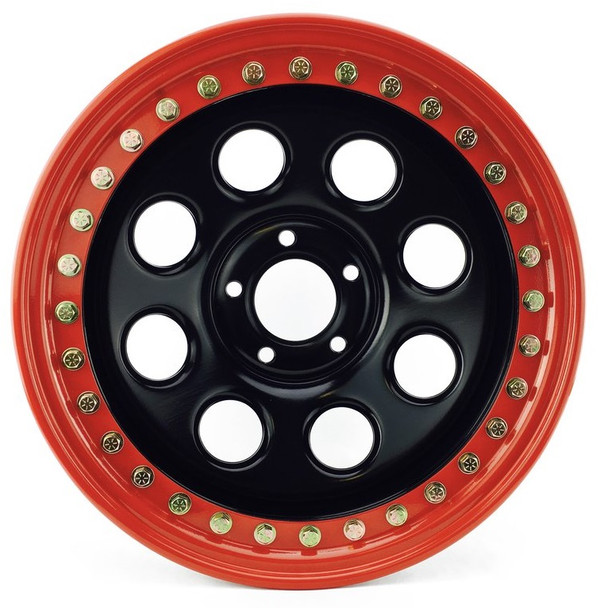 Battle Born Wheels | Gatekeeper | Beadlock | 17x9 | Red