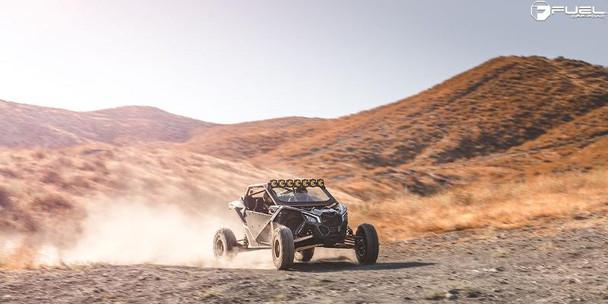 Fuel Off-Road UTV Wheels | Maverick D538 | 14x7 | 4x110 | Black Milled | D5381470A444