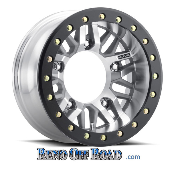 Raceline Beadlock Buggy Wheels | 5x205 at www.RenoOffRoad.com MACHINED