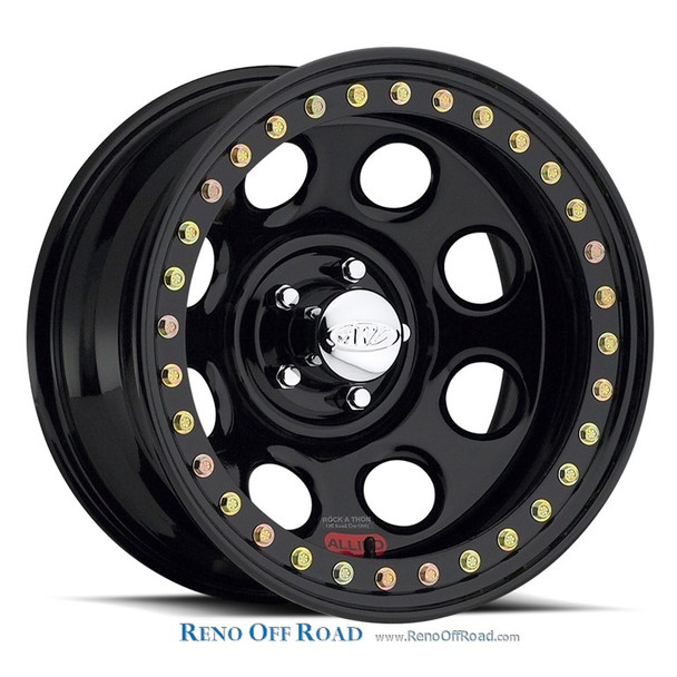 Raceline Steel Beadlock Wheel |  Rock 8 | 15x10 | 8X6.5 | RT81
