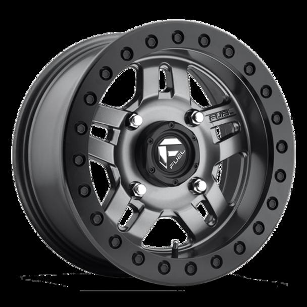 Fuel Off-Road UTV Beadlock Wheels | Anza - D918 | 15x7 | 4on110 | Matte Anthracite | www.renooffroad.com