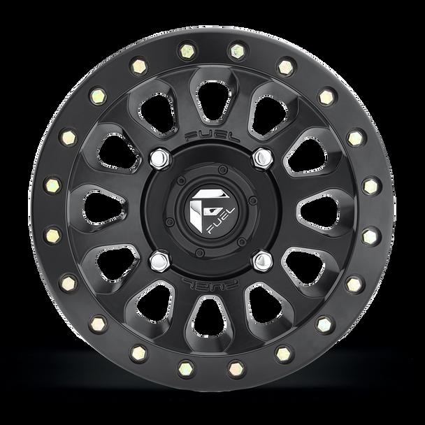 Fuel Off-Road UTV Beadlock Wheels | Vector - D920 | 15 x 7 | 4 on 110 | Matte Black | D9201570A445 at www.renooffroad.com