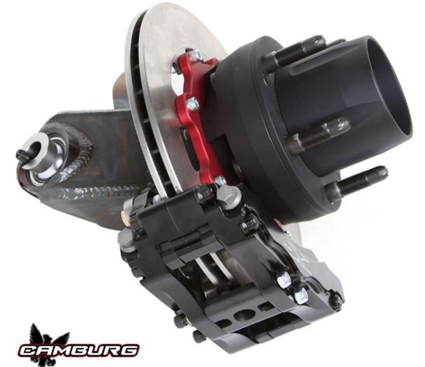 Camburg Race I-Beam Spindle w. Hubs | Wilwood Rotors | F-150 2WD at www.renooffroad.com