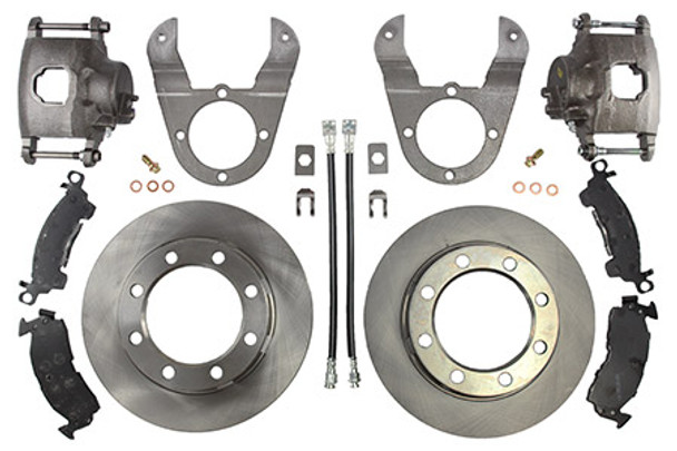 14 Bolt Disc Brake Conversion Kit (SRW) by: RuffStuff